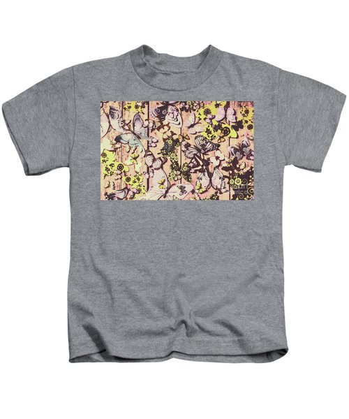 Flight Patterns Kids T-Shirt