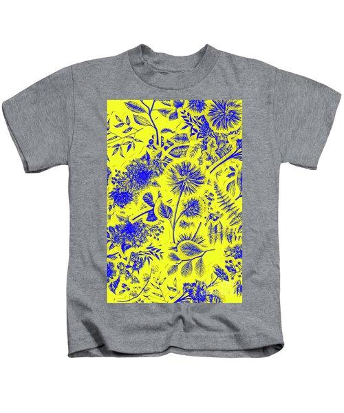 Flora And Foliage Kids T-Shirt