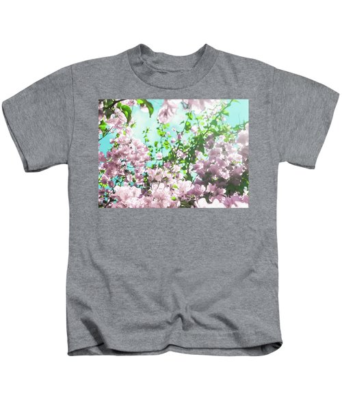 Floral Dreams V Kids T-Shirt