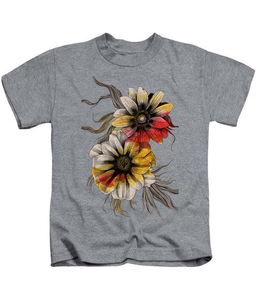 Floral Series - Gazania Rigens Kids T-Shirt