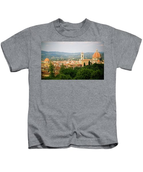 Florence Italy Cityscape Kids T-Shirt