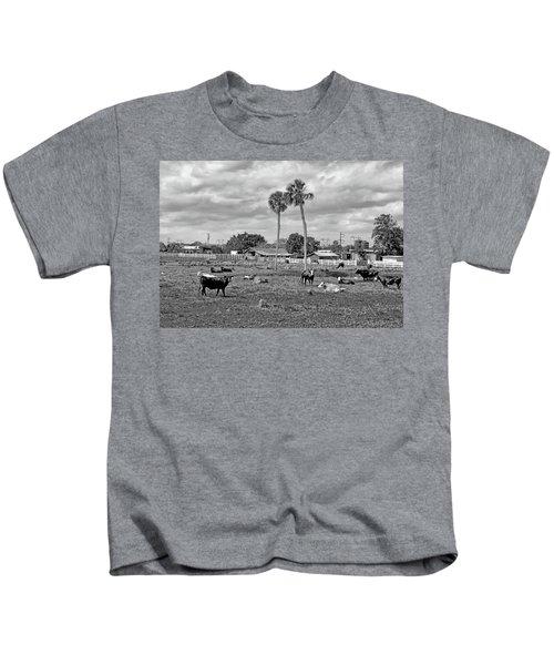 Florida Farmscape Kids T-Shirt