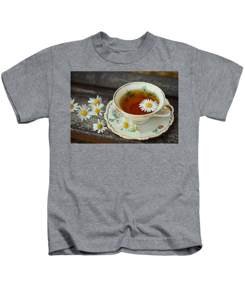 Flower Tea Kids T-Shirt