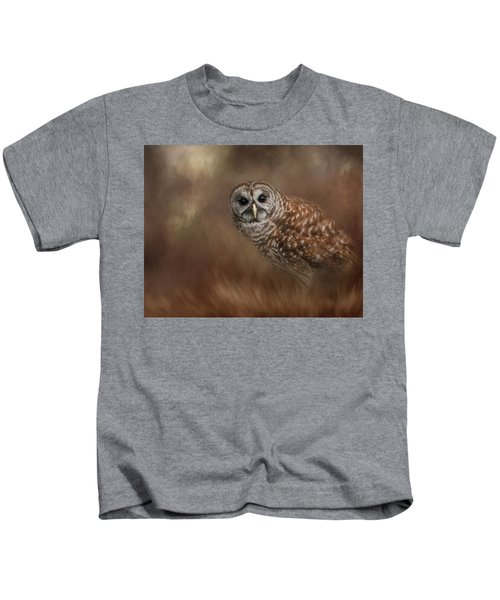 Foraging In The Field Kids T-Shirt