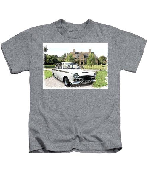 Ford 'lotus' Cortina Kids T-Shirt