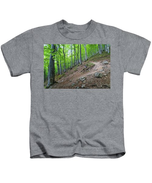 Forest On Balkan Mountain, Bulgaria Kids T-Shirt