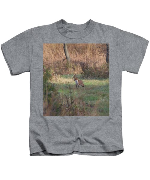 Fox On Prowl Kids T-Shirt
