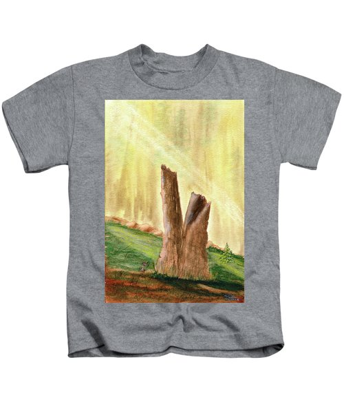From Ruins Comes New Life Kids T-Shirt