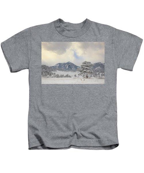 Frosty Flatirons Kids T-Shirt