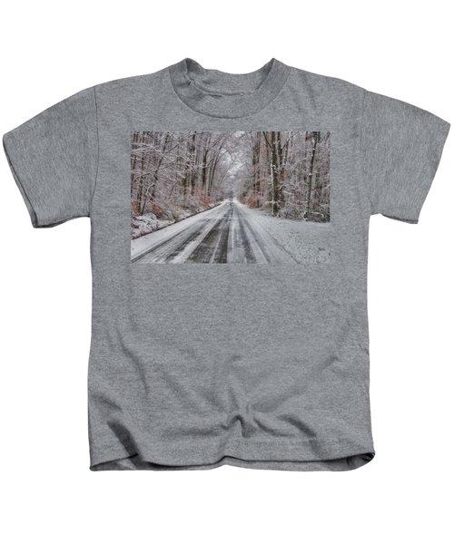 Frozen Road Kids T-Shirt