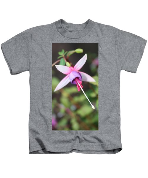 Fuchsia Showing Off In All Its Glory Kids T-Shirt