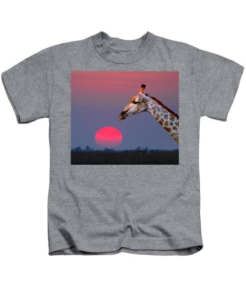 Giraffe Composite Kids T-Shirt