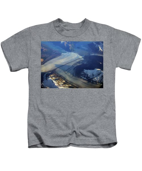 Glaciers Converge Kids T-Shirt