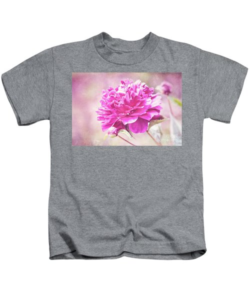 Glorious Pink Peony Kids T-Shirt
