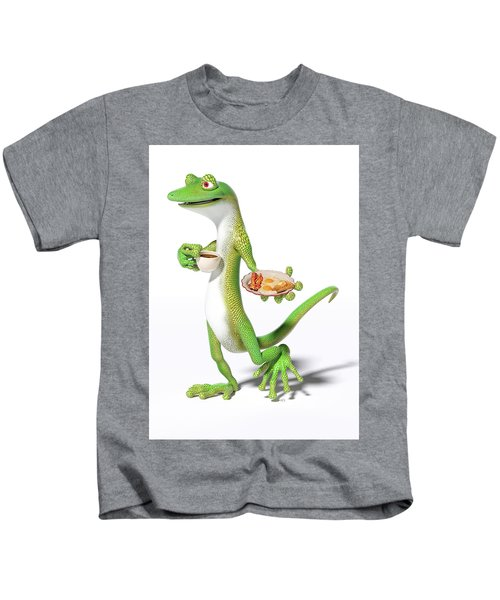 Good Morning Gecko Kids T-Shirt