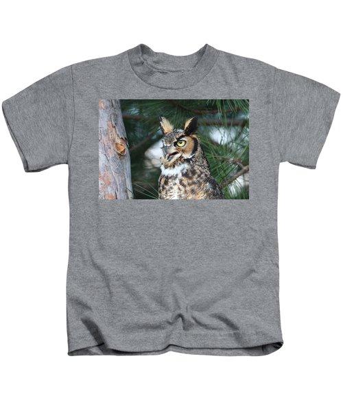 Great Horned Owl 5151801 Kids T-Shirt