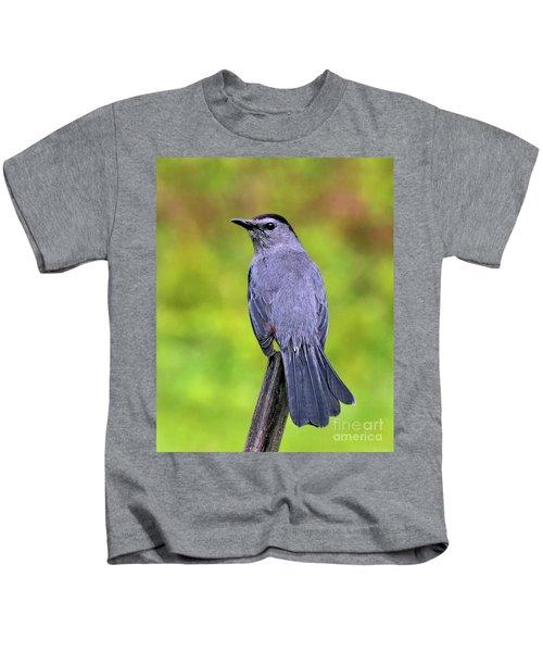 Grey Catbird Kids T-Shirt