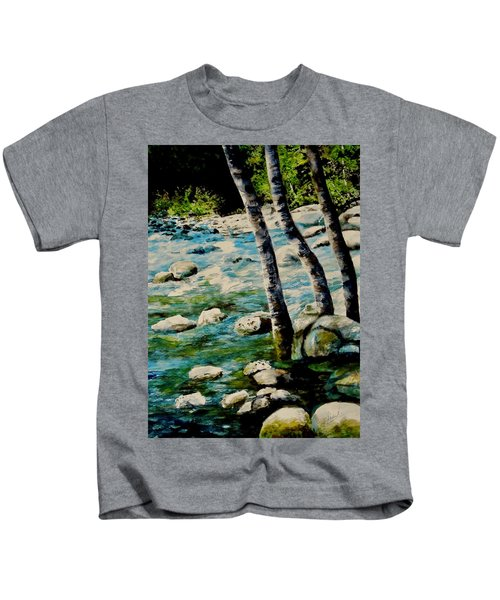 Gushing Waters Kids T-Shirt