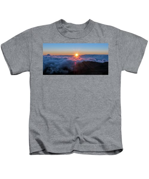 Haleakala First Light  Kids T-Shirt
