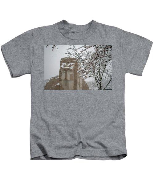 Happy Holidays At The King Memorial Kids T-Shirt