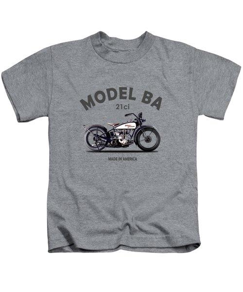 Harley-davidson Ba 1927 Kids T-Shirt