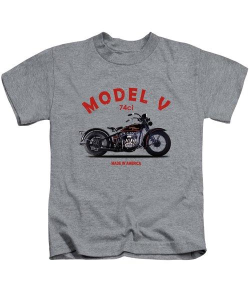 Harley-davidson Model V 1930 Kids T-Shirt