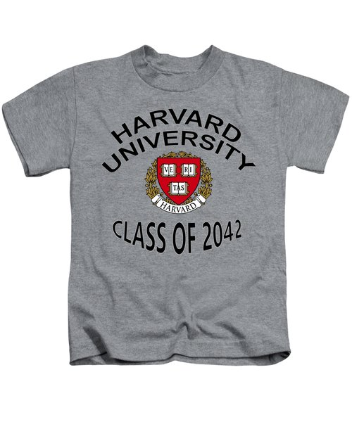Harvard University Class Of 2042 Kids T-Shirt