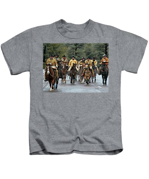 Hashknife Riders Kids T-Shirt