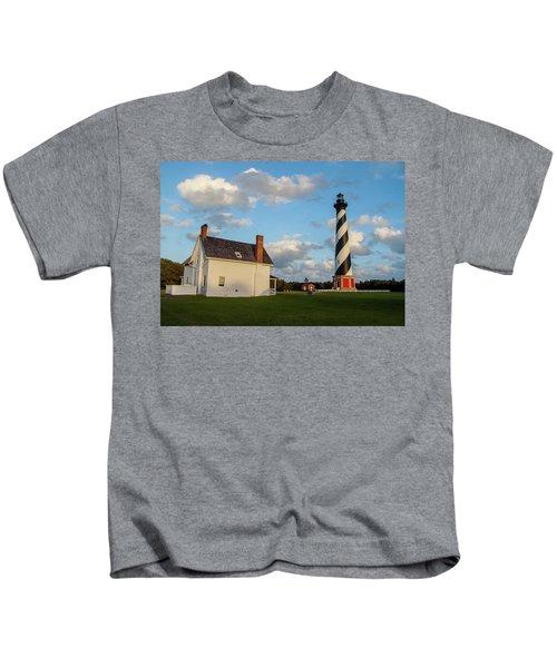 Hatteras Lighthouse No. 2 Kids T-Shirt