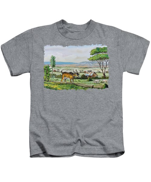 He-goat And Homes Kids T-Shirt