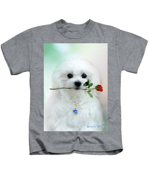 Hermes And Rose Kids T-Shirt