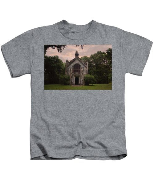 Historic Mississippi Church In The Woods Kids T-Shirt