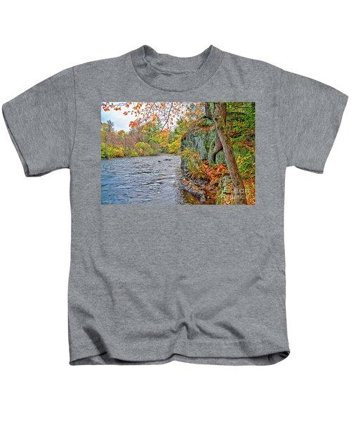 Hogback Dam Pool Kids T-Shirt