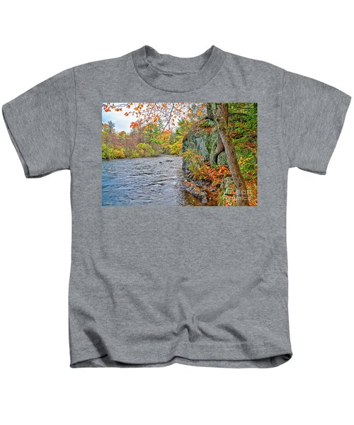 Hogback Dam Pool Kids T-Shirt