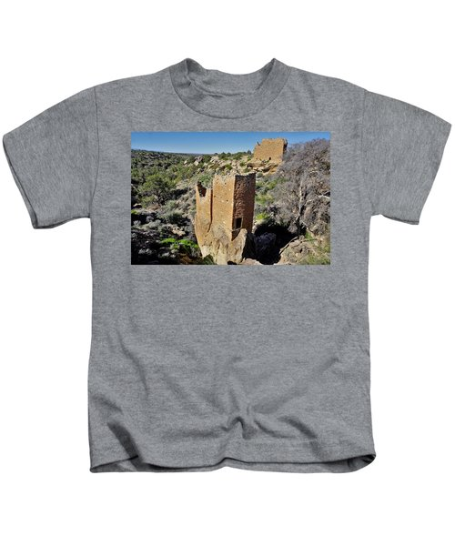 Holly Tower At Hovenweep Kids T-Shirt