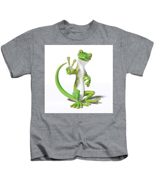 Hoping For Peace Gecko Kids T-Shirt