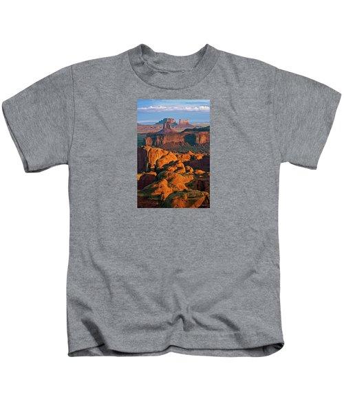 Hunts Mesa Sunrise Kids T-Shirt