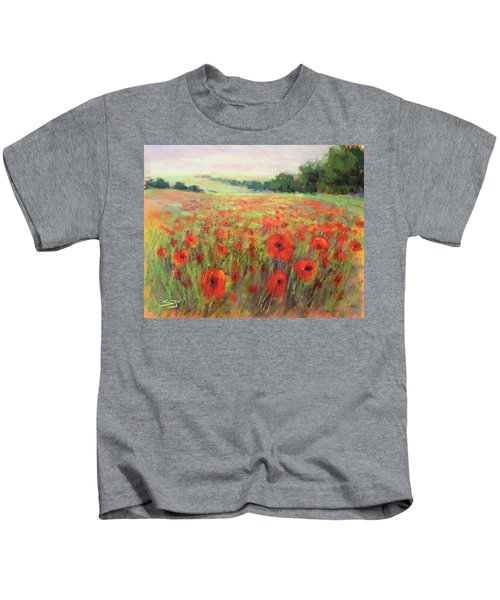 I Dream Of Poppies Kids T-Shirt
