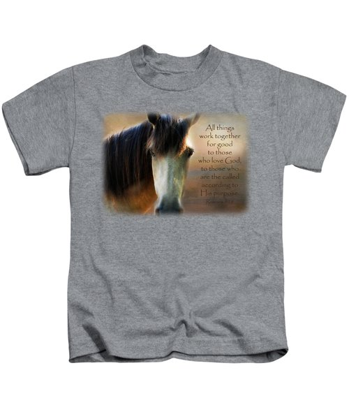 If Horses Could Talk - Verse Kids T-Shirt