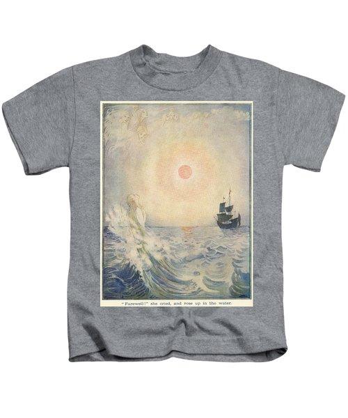 The Little Mermaid, Illustration From  Kids T-Shirt
