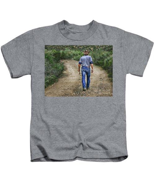 I'm Goin' Fishin Kids T-Shirt