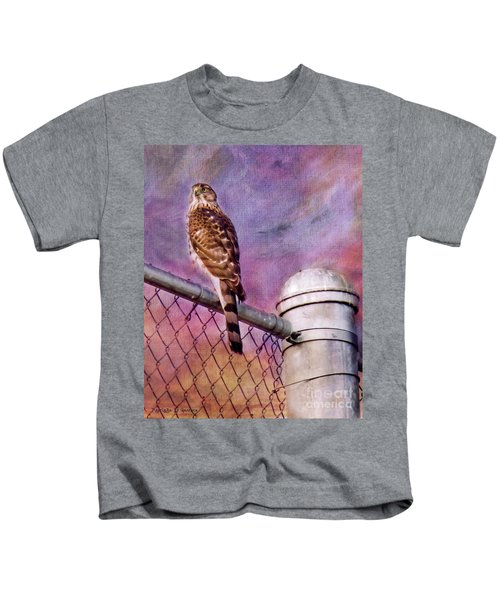 I'm Keeping My Eyes On You Kids T-Shirt