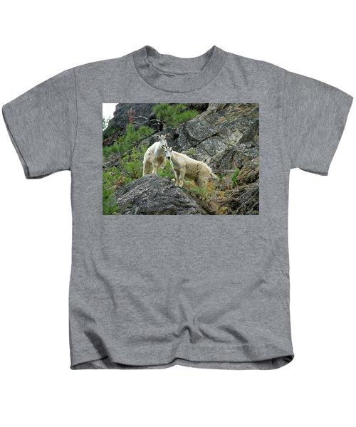 Idaho Mountain Goats Kids T-Shirt