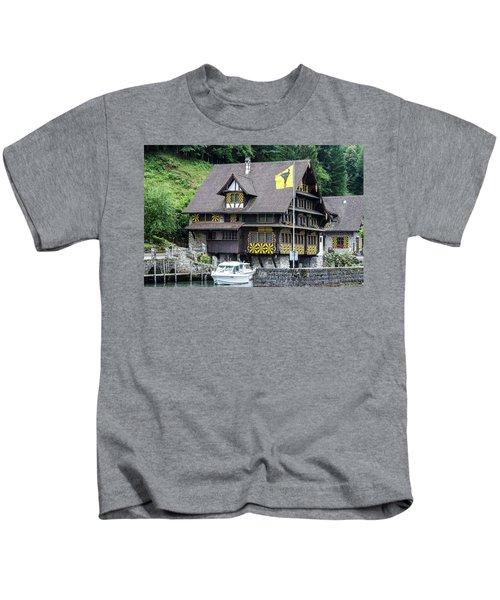 Inn On Lake Lucerne Kids T-Shirt