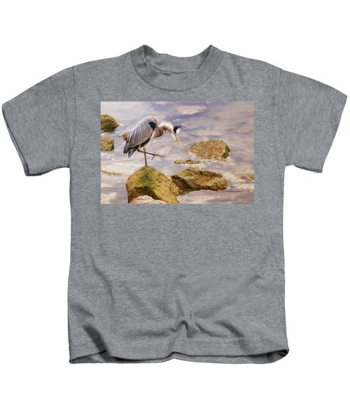 One Step At A Time Kids T-Shirt