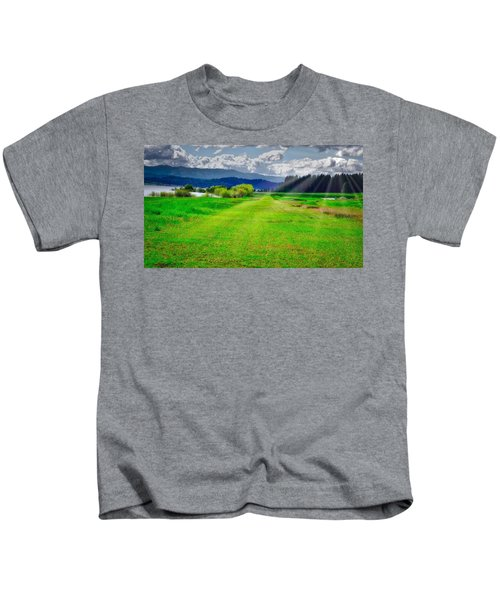 Inviting Airstrip Kids T-Shirt