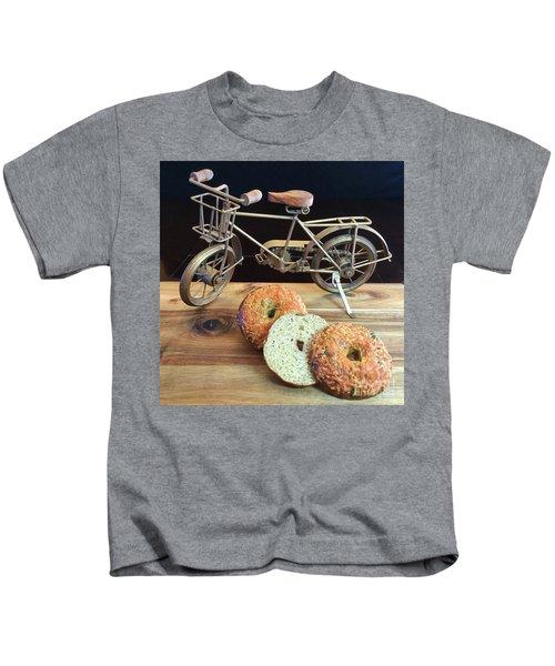 Jalapeno Cheddar Sourdough Bagels Kids T-Shirt