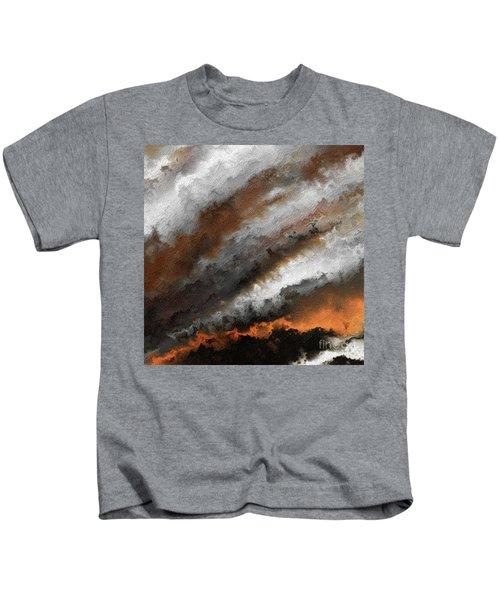 Jeremiah 20 9 Fire In My Heart Kids T-Shirt