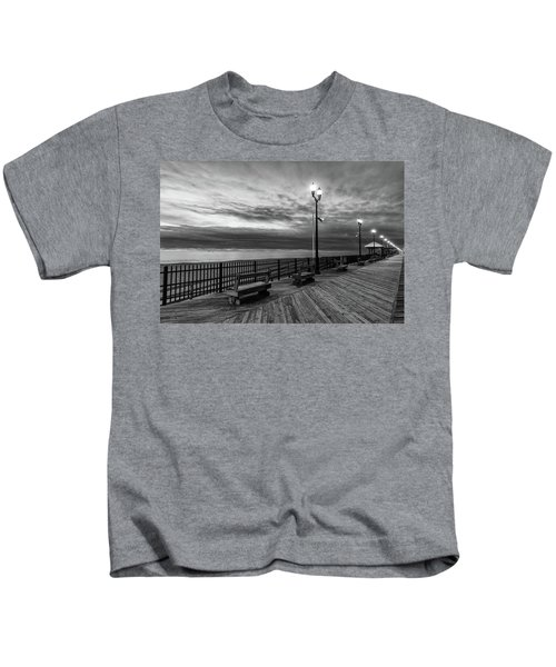 Jersey Shore In Winter Kids T-Shirt