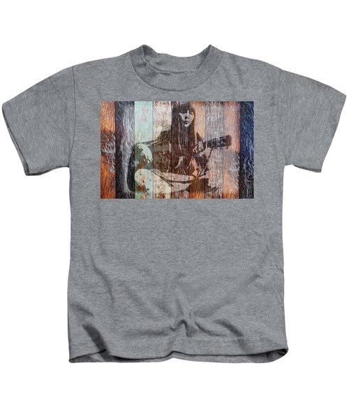 Joni Mitchell Kids T-Shirt